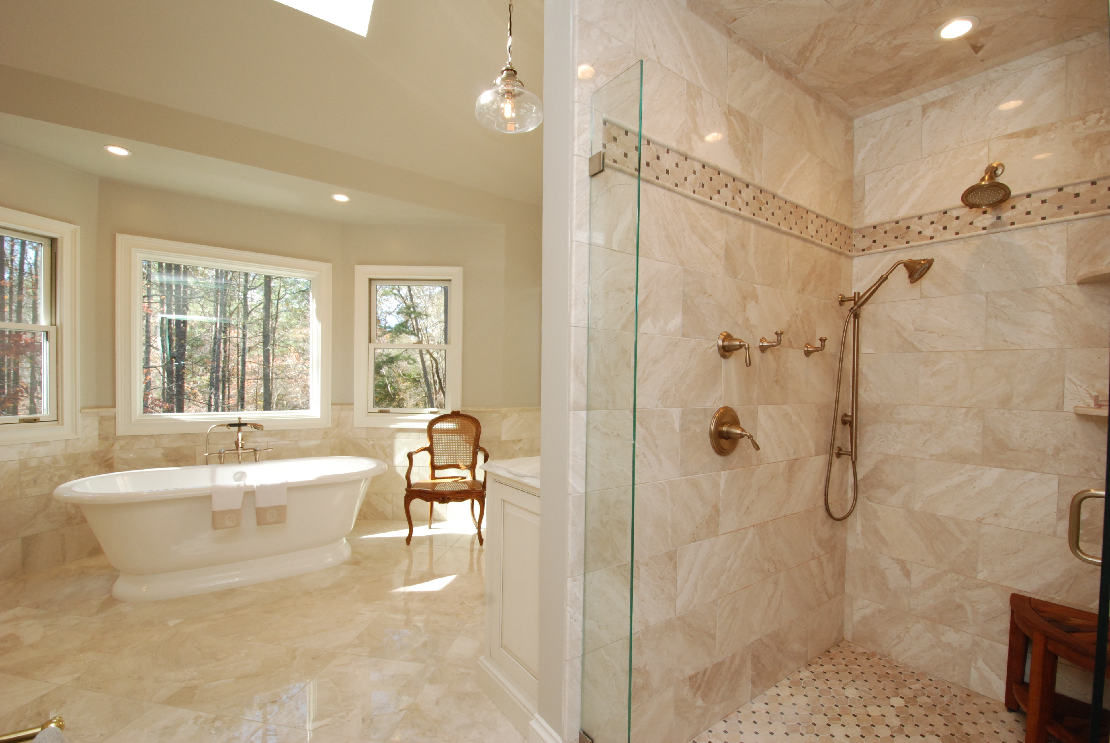 Portfolio archive momentum construction for Elegant master bathrooms pictures
